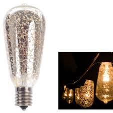 Edison Bulb Patio String Lights 10ft Outdoor Patio String Lights With 10 Clear St38 Bulbs Ul