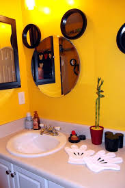 Mickey Mouse Room Decorations Inspiring Mickey Mouse Bathroom Decor Design Ideas Decors In