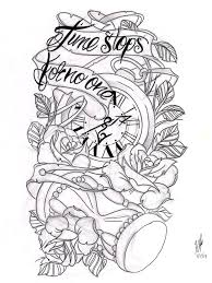 21 best no time tattoo drawing images on pinterest time tattoos