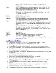 Sample Resume For Experienced Electrical Engineer by Boiler Engineer Sample Resume Haadyaooverbayresort Com