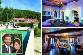 see inside the 2 4 million french pad posh and becks are flogging