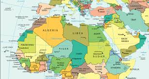 Sub Saharan Africa Physical Map by Mukhabarat Baby Why Should The West Be Concerned With The