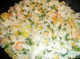 recette de riz blanc à la chinoise