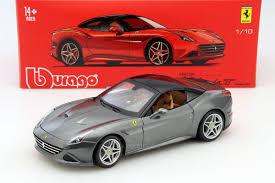 Ferrari California Grey - bburago 1 18 ferrari california t closed grey 16902gy online shop
