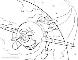 dusty plane colouring pages rhodes coloring frozen print turbo