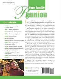 your family reunion how to plan it organize it and enjoy it