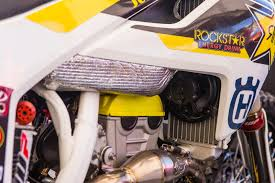 rockstar energy motocross helmet max nagl u0027s rockstar energy husqvarna fc 450 vital mx pit bits