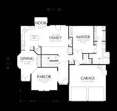 Floor Plans With Porches Mascord House Plan 2281 The Lyndon