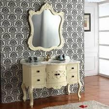 Classic Bathroom Furniture Solid Classic Wood Bathroom Cabinet Bathroom Vanity Makeup