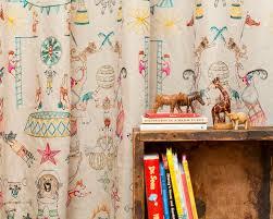 Circus Home Decor Coral And Tusk Circus Print Home Decor Fabrics For Pollack The