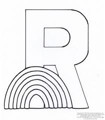 letter r coloring pages get coloring pages