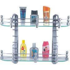 Bathroom Racks And Shelves by Cipla Plast Bathroom Glass Shelf Bath Racks Homeshop18