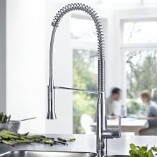 Grohe Faucet Kitchen by K7 Semi Pro Single Handle Pull Out Kitchen Faucet Touch On