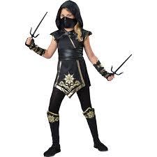 Ninja Halloween Costumes Toddlers Buy Gold Ninja Kids Costume