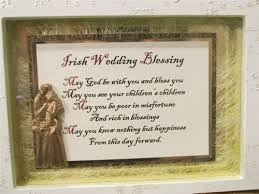 wedding blessing wedding blessing framed shadow box