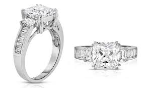 clearance engagement rings clearance 4 cttw tri princess cut bridal ring groupon