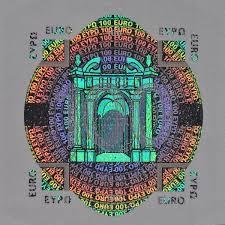 Hologramm Le File Folienelement 100eur Jpg Wikimedia Commons