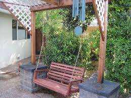Swing Pergola The Best Free Standing Porch Swing U2014 Jbeedesigns Outdoor