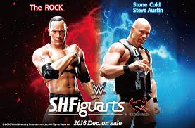 wwe wrestling news sports entertainment movie infos and download photos and info for sh figuarts stone cold and the rock the toyark