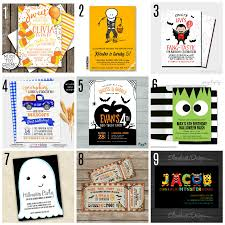 Halloween Birthday Invitations by Party Planning Challenge Halloween Party Part 2 The Party Teacher