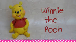winnie the pooh cake topper winnie the pooh cake topper tutorial how to make come fare