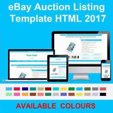 2017 clean u0026 responsive ebay listing html template description no