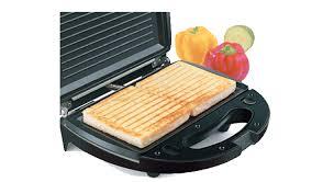 Toaster With Sandwich Maker Ss Premier Sandwich Maker