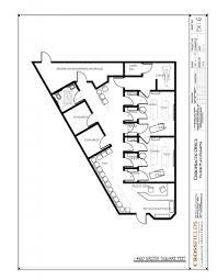 Office Plans by Chiropractic Clinic Floor Plans