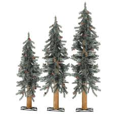 decoration ideas awesome alpine artificial trees with
