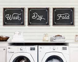 Laundry Room Wall Decor Ideas Laundry Room Decor Etsy