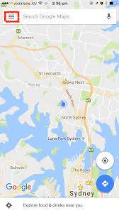 Sydney Map How To Download Google Maps To Use Offline Without Wifi Or Data