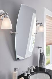 Mirrors Bathroom Best 25 Brushed Nickel Mirror Ideas On Pinterest White Vanity