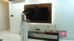 Tv Table Interior Design Tv Unit By Interiors By J Youtube