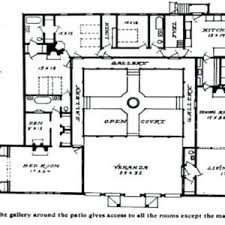 courtyard style house plans adobe house plans with center courtyard santa fe style house
