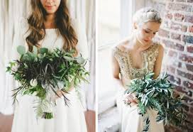 wedding flowers greenery 20 greenery wedding bouquets weddbook