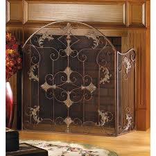 Fireplace Metal Screen by 61 Best Fireplace Ideas And Screens Images On Pinterest