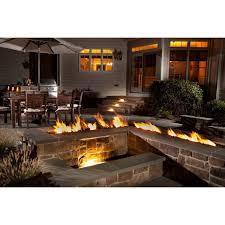 shop spotix linear hpc match lit fire pit t burner kits