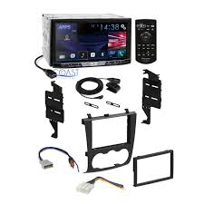 nissan altima coupe accessories pioneer 2017 car dvd stereo double din dash kit harness for 07 11