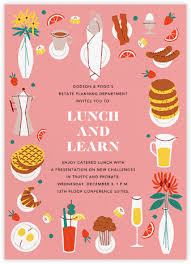 lunch invites dinner and luncheon online at paperless post