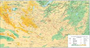 Mongol Empire Map Maps Of Mongolia Mongols Eu