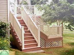 deck stair railing home railing inspirations