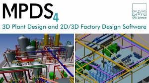 3d plant design u0026 2d 3d factory design software mpds4 youtube