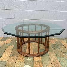 wellington hall end table vintage wellington hall bamboo coffee table in timberlake estates