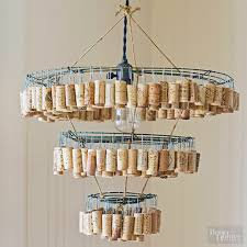 How To Make A Diy Chandelier 5 Amazing Diy Projects To Make With Wine Bottles U0026 Corks Vinepair