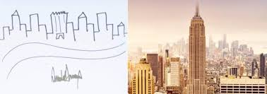 donald trump u0027s crude drawing of nyc sells for 29 184 at auction