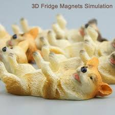 simulation 3d cuisine 1pc 3d fridge magnets stickers simulation model magnets