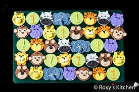 safari cake toppers how to make safari jungle animals fondant cupcake toppers