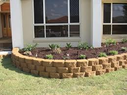 link block garden wall outdoor space pinterest retaining