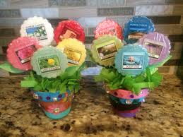 house warming gift bouquet of yankee candle tarts