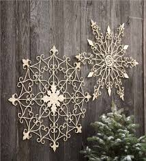 distressed metal snowflake wall hanging new for fall